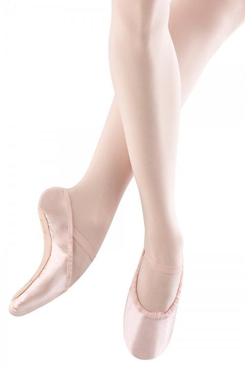 Satin full sole ballet shoe Adult