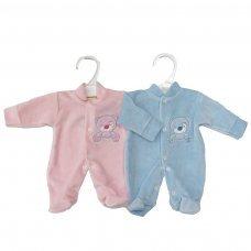 Velour Premature sleep suit
