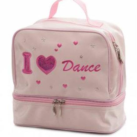 Satin Heart Dance bag