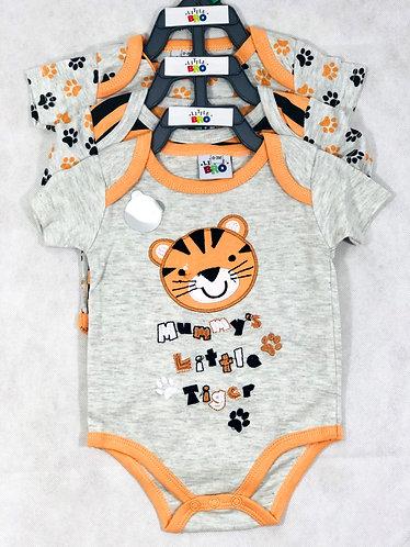 Tiger Bodysuits - Set of 3