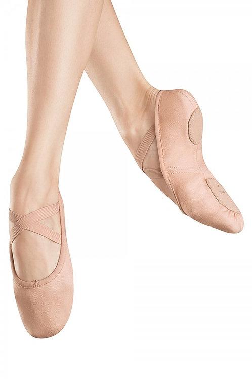 Zenith Stretch Canvas Split Sole Ballet shoe