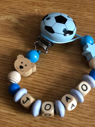 Football Wooden beads