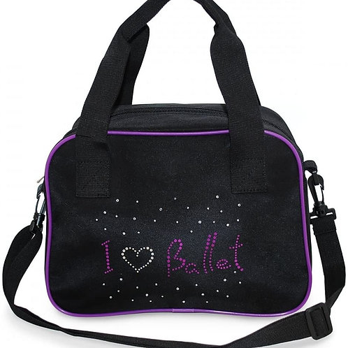 RV Ballet Black Shoulder Bag