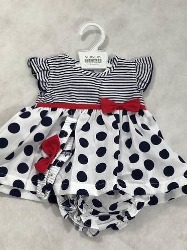 Stripes and Dots dress