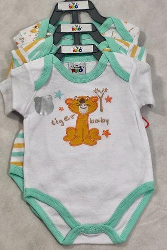 3 Tiger Baby bodysuit