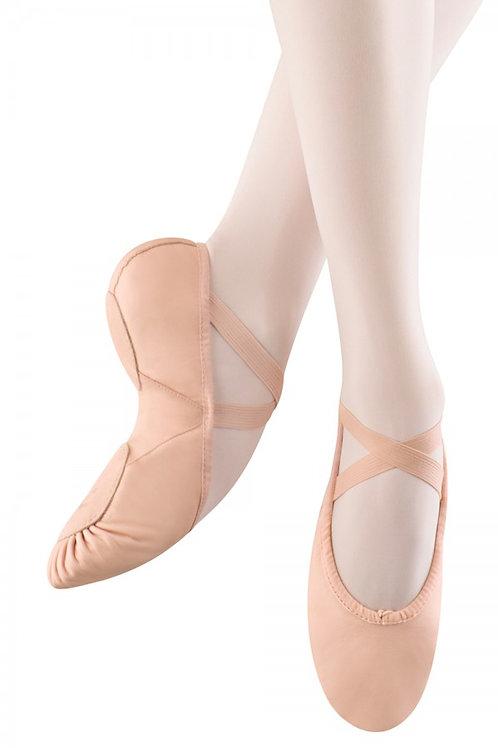 Split Sole Leather ballet shoe