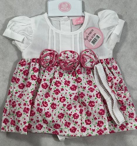 White / Floral dress