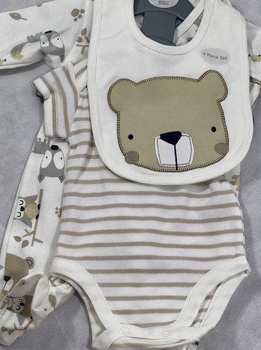 Bear 3 Piece set
