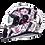 Thumbnail: MT Helmets Thunder 3 SV Wild garden pink