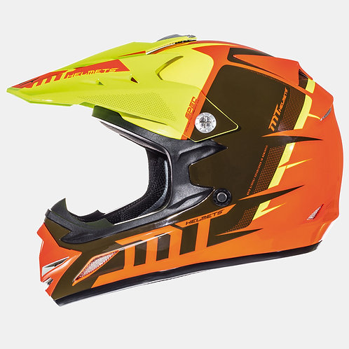 Мотошлем MT Helmets Synchrony kid orange детский