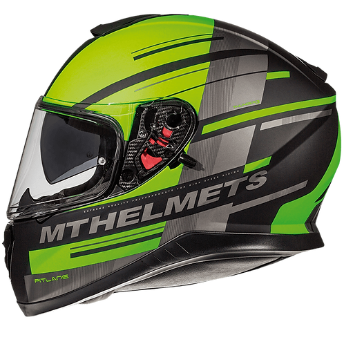 MT Helmets Thunder 3 SV Pitline green