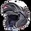 Thumbnail: Мотошлем MT Helmets ATOM Solid Matt Black