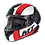Thumbnail: Мотошлем MT Helmets Rapide Overtake white red green