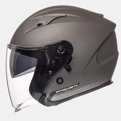Мотошлем MT Helmets Avenue Solid Matt Titan