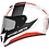 Thumbnail: Мотошлем MT Helmets Rapide Duel white gray orange