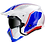 Thumbnail: Мотошлем МТ Streetfighter SV Gloss Pearl Blue