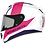 Thumbnail: Мотошлем MT Helmets Rapide Duel white pink