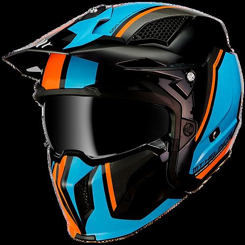 Мотошлем МТ Streetfighter SV Gloss Fluo Orange