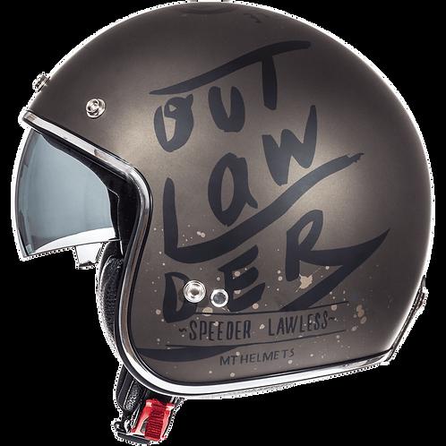Мотошлем MT Helmets Le Mans OutLanDer Brown
