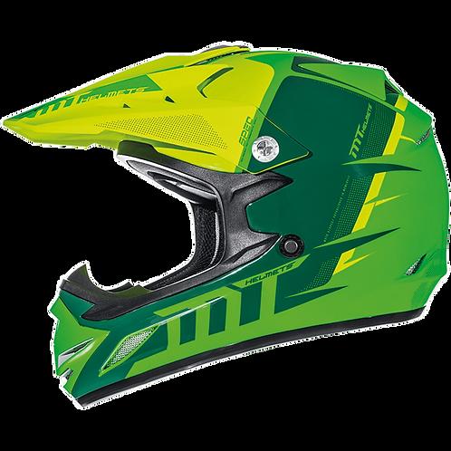 Мотошлем MT Helmets Synchrony kid green детский
