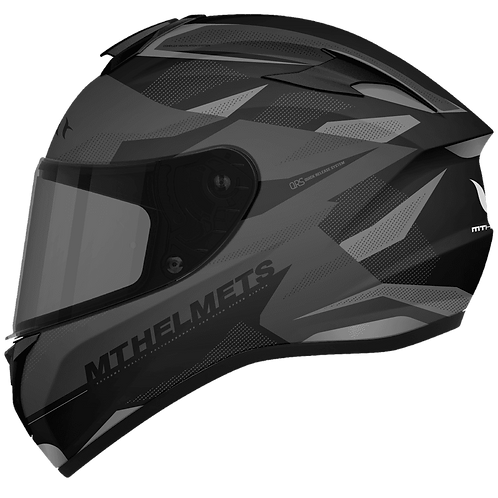 Мотошлем MT Helmets Targo Enjoy matt black gray