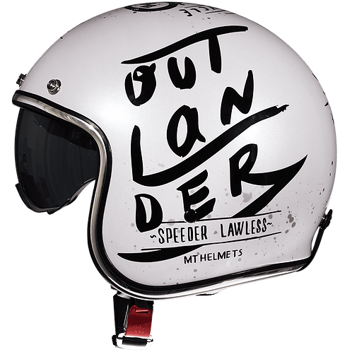 Мотошлем MT Helmets Le Mans OutLanDer White
