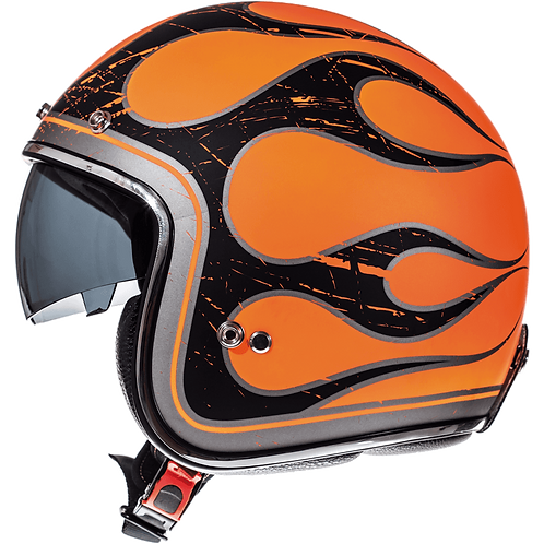 Мотошлем MT Helmets Le Mans Flaming