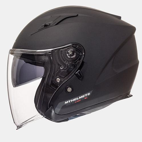 Мотошлем MT Helmets Avenue Solid Matt Black