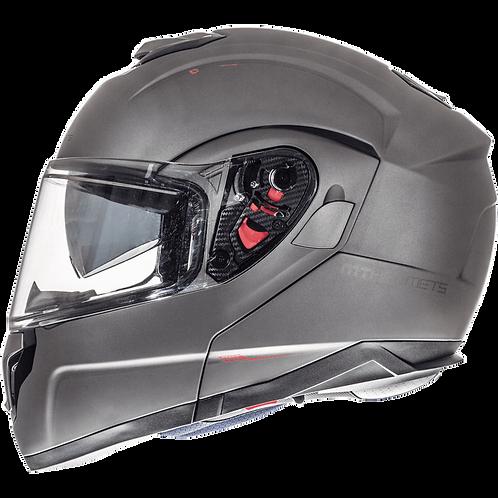 Мотошлем MT Helmets ATOM Solid