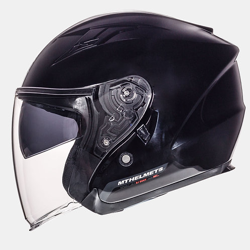 Мотошлем MT Helmets Avenue Solid Gloss Black