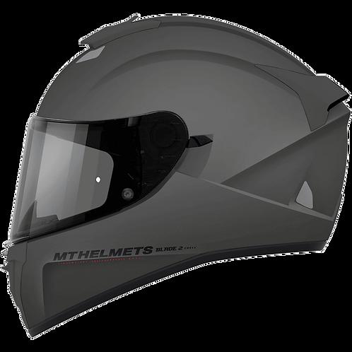 Мотошлем MT-helmets BLADE2 SV Solid Titan