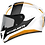 Thumbnail: Мотошлем MT Helmets Rapide Duel white gray gold