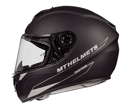 Мотошлем MT Helmets Rapide Solid matt black