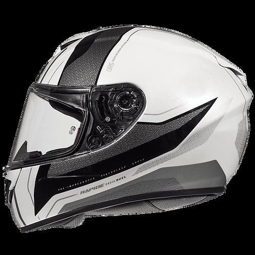 Мотошлем MT Helmets Rapide Duel white gray black