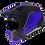 Thumbnail: Мотошлем МТ Streetfighter SV Matt Blue