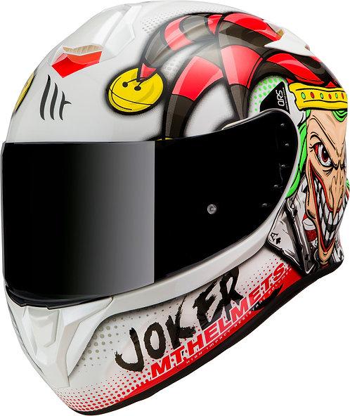 Мотошлем MT Helmets Targo Joker white