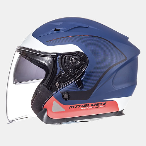 Мотошлем MT Helmets Avenue SV Crossroad Matt Blue White
