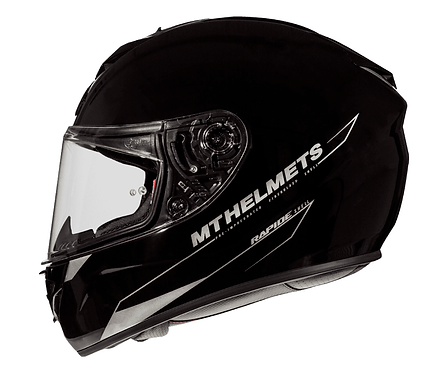Мотошлем MT Helmets Rapide Solid gloss black