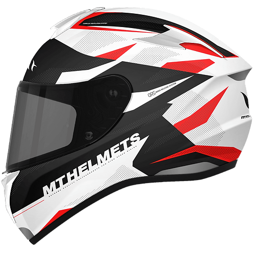 Мотошлем MT Helmets Targo Enjoy white red
