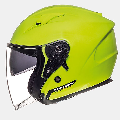 Мотошлем MT Helmets Avenue Solid Fluo Yellow