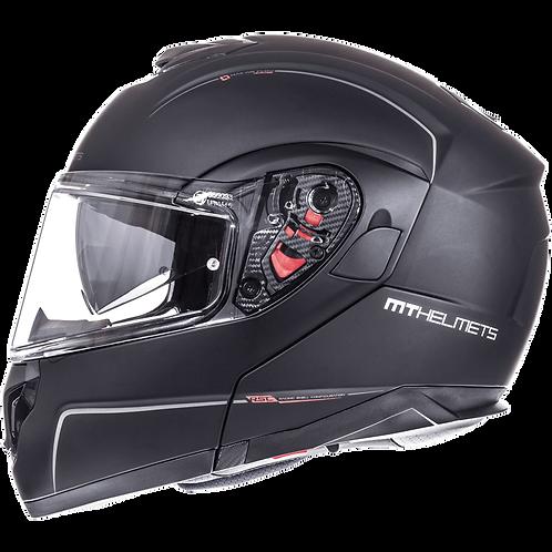 Мотошлем MT Helmets ATOM Solid Matt Black
