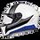 Thumbnail: Мотошлем MT Helmets Rapide Duel white gray blue