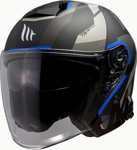 Мотошлем МТ Thunder 3 sv JET BOW Matt Blue