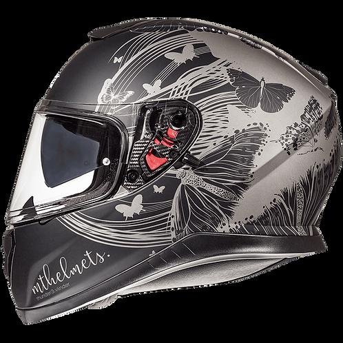 Мотошлем MT Helmets Thunder 3 SV Vlinder Black