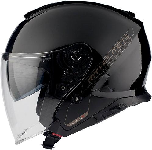 Мотошлем МТ Thunder 3 sv JET Solid gloss Black