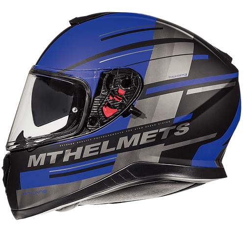 MT Helmets Thunder 3 SV Pitline blue