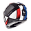 Thumbnail: Мотошлем MT Helmets Rapide Overtake white red blue