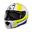 Thumbnail: Мотошлем MT Helmets Rapide Duel white yellow blue
