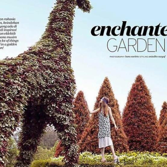 Nancy for Elle magazine.