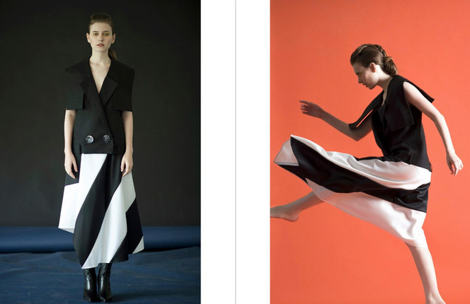 Nancy is a new look book from Shanghai.